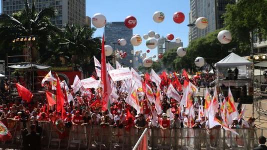 1º de Maio no Anhangabaú