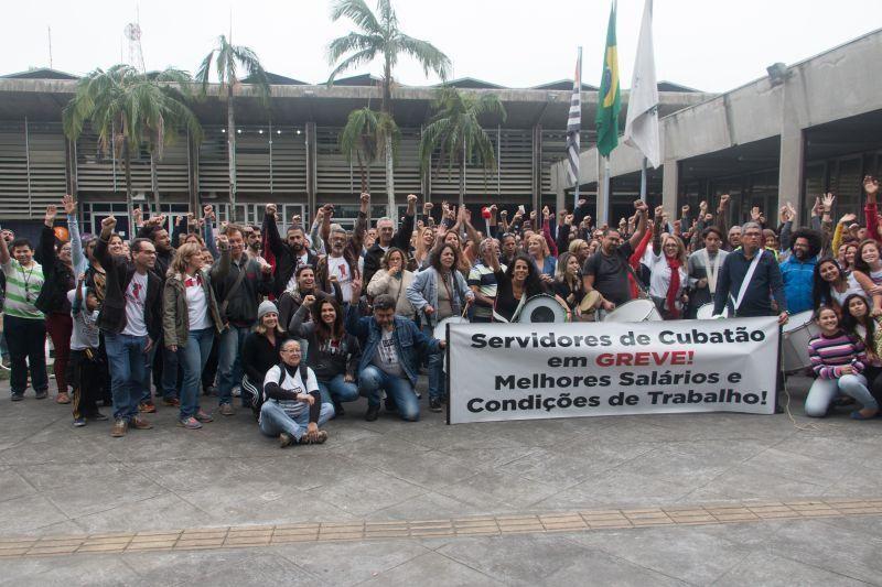 Apoio à greve dos professores de Cubatão