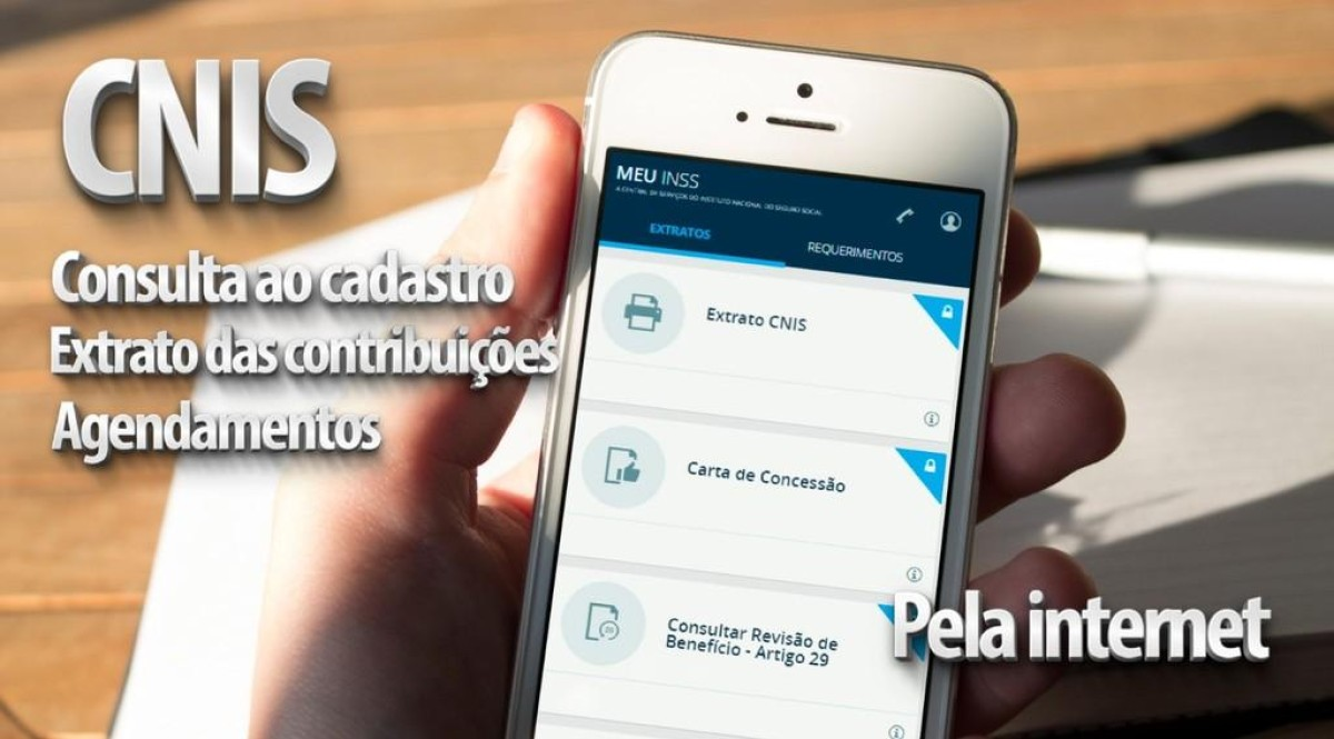 INSS disponibiliza acesso a serviços pela internet