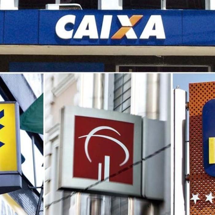 Quatro bancos concentram 72,4% dos ativos das instituições financeiras