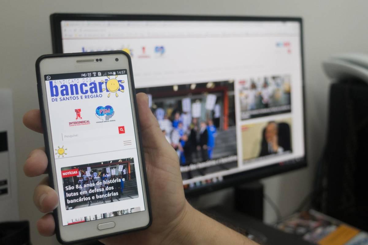 Sindicato lança novo site mais ágil e atual para a categoria