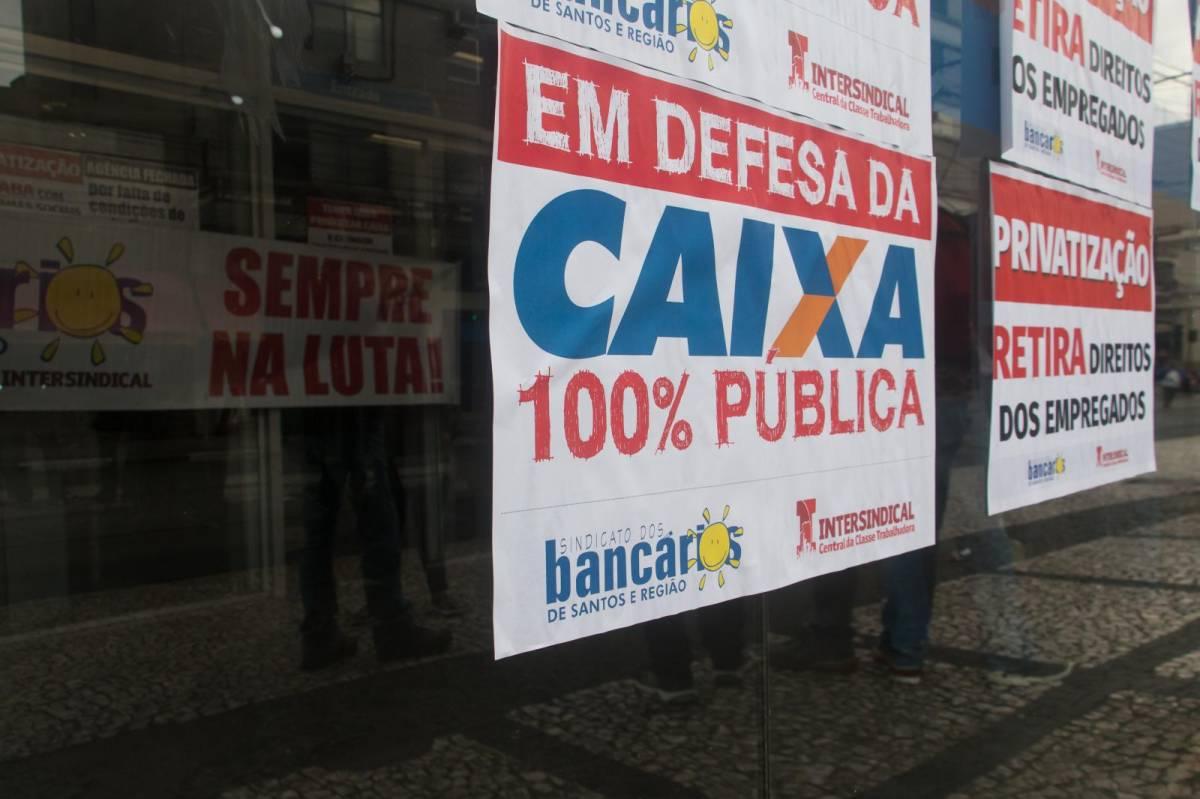 Bancários pressionam e Caixa exclui cláusula do PDVE que retirava direitos
