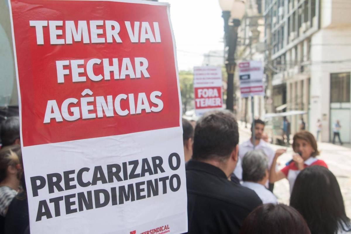 Má vontade do Banco do Brasil deixa centenas de caixas desamparados