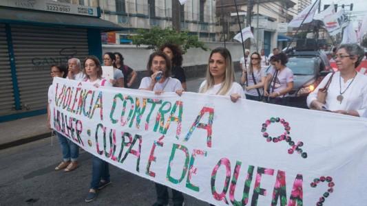 8M:  intervenções culturais e marcha pelo fim da violência contra a mulher
