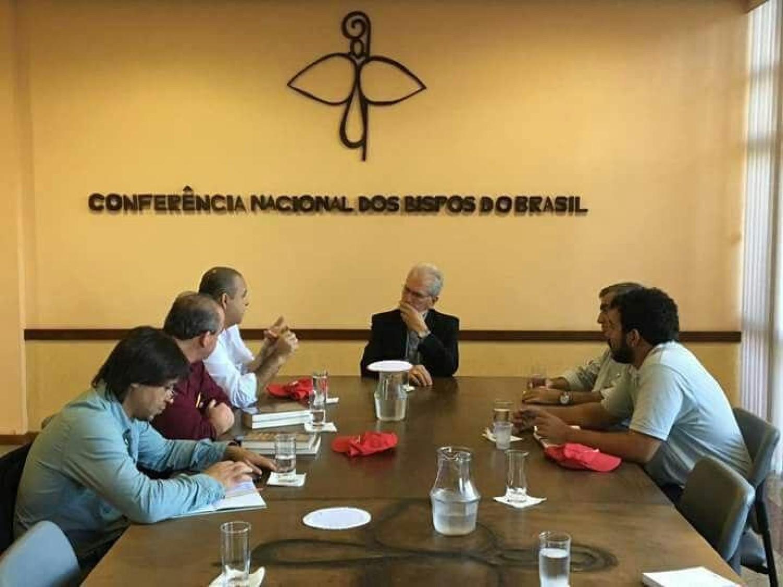 """CNBB recebe trabalhadores para dialogar sobre """"reformas"""""""