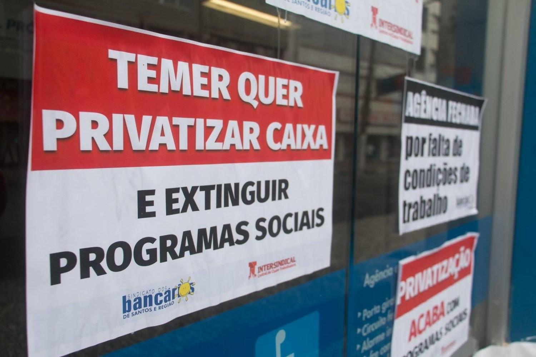 Caixa fecha postos de trabalho mesmo com lucro de R$1,488 bilhão no 1º trimestre