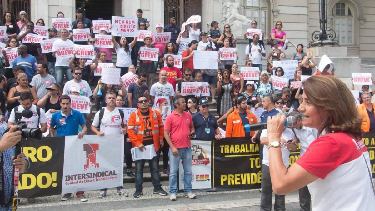Dia nacional contra a Terceirização e o Desmonte da Previdência