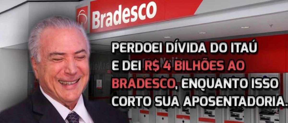 Em nota, Bradesco defende reformas
