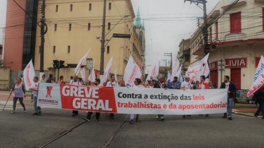 Greve geral mexeu com o bolso dos patrões e entra para a história do Brasil