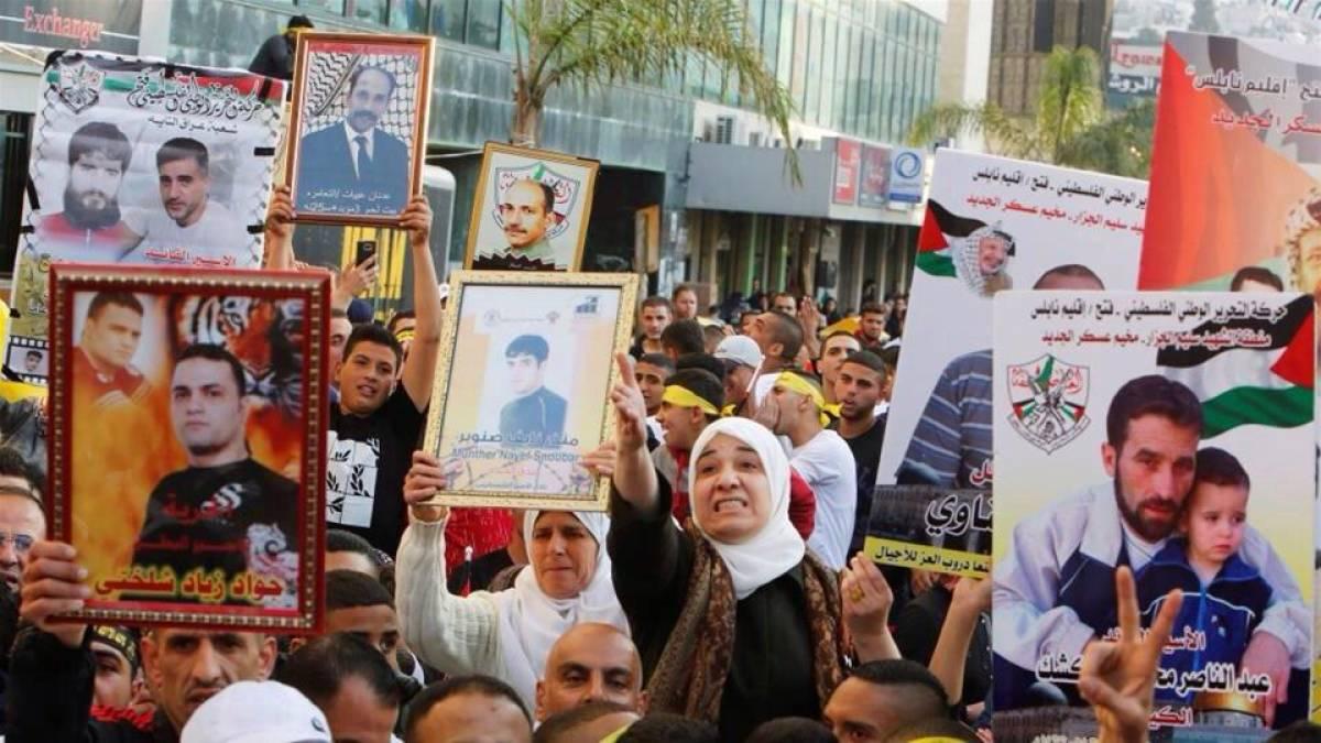 Nota pela libertação dos presos palestinos em Israel