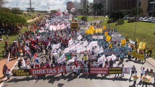 Ocupa Brasília - Fora Temer! Diretas Já