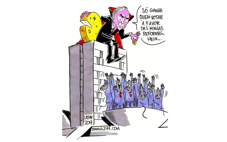 Por reforma da Previdência, Temer entrega R$ 55 bi