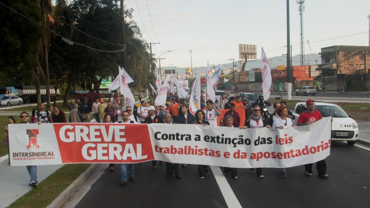 Greve Geral contra as
