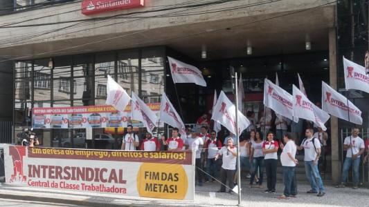 No Brasil, Santander trata Bancários como de segunda classe