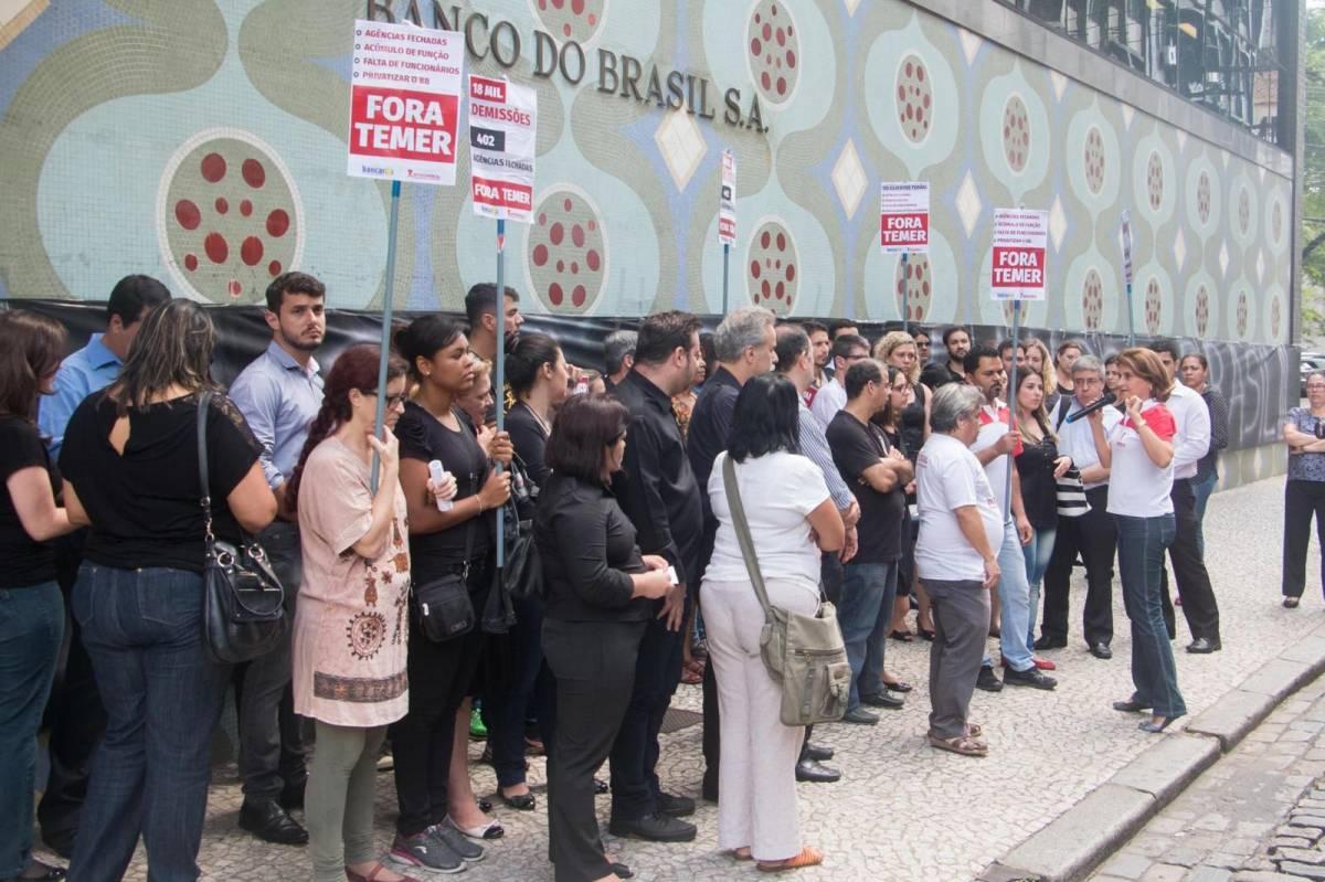 Banco do Brasil: terceirizada dá calote em funcionários