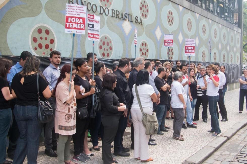 [Banco do Brasil: terceirizada dá calote em funcionários ]