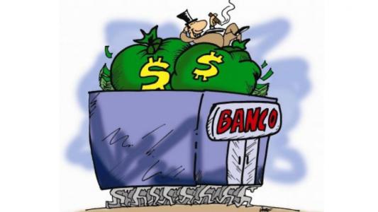 Bancos sobem tarifas bem acima da inflação