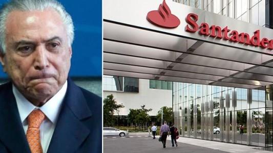 Santander defende desmonte trabalhista de Temer