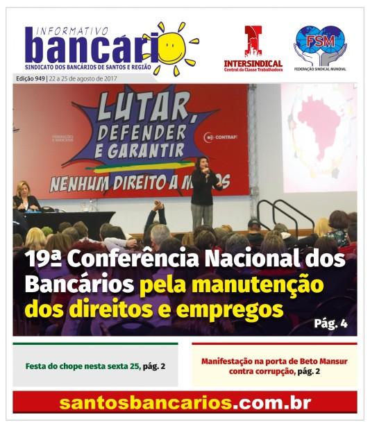 19ª Conferência dos Bancários pela manutenção dos direitos e empregos