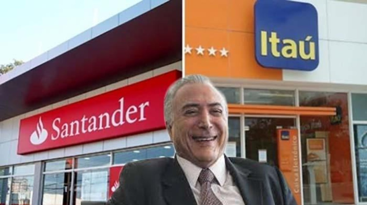 Itaú e Santander têm dívidas perdoadas e deixam de pagar R$ 27 bilhões aos cofres públicos