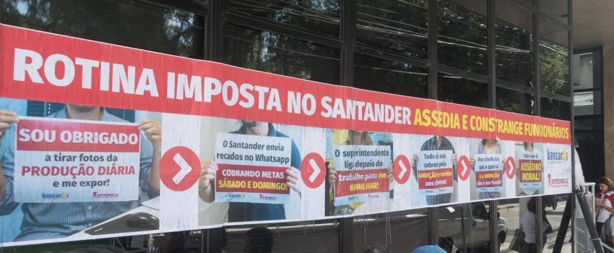 Santander condenado novamente por assédio moral