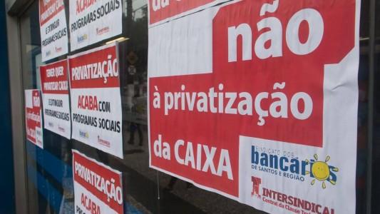 Bancários da Caixa se reúnem com direção do banco nesta quinta, 26