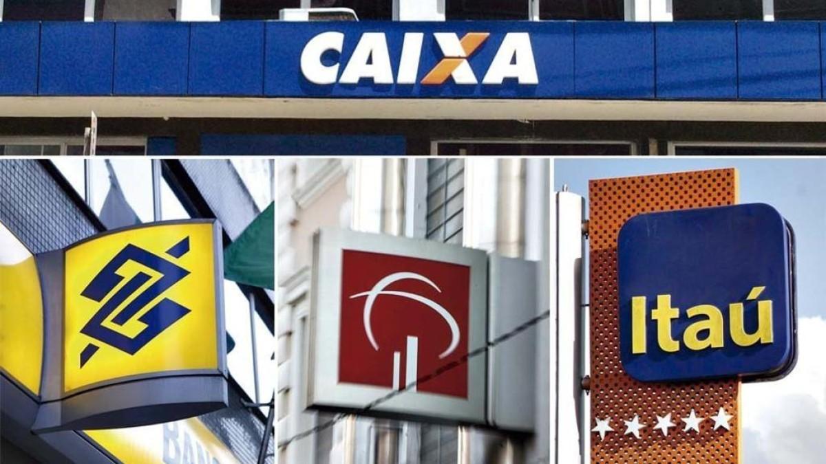 BB, Bradesco, Caixa e Itaú acumulam 78% do mercado de crédito