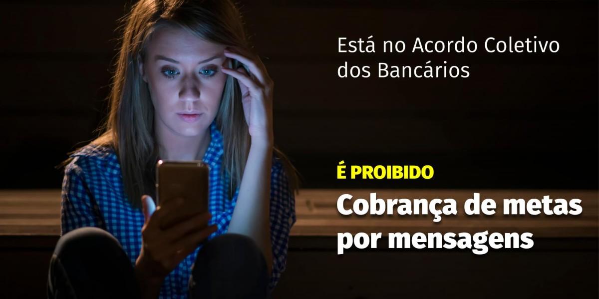 """Gestores do Santander cobram resultados dia e noite por """"whatsapp"""""""