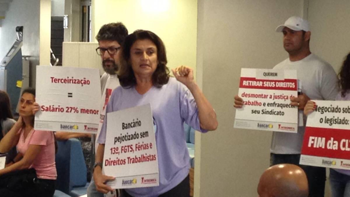 Mobilização e sindicalização na defesa dos empregos e direitos