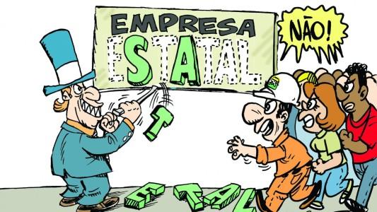 Datafolha: sete em cada dez brasileiros são contra privatizações