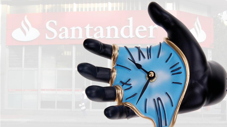 Santander começa a roubar horas extras dos bancários