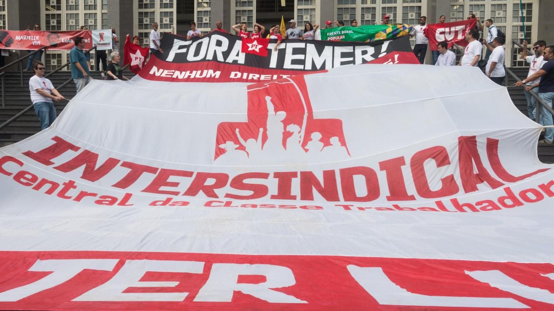 Dia Nacional contra o Golpe em Santos