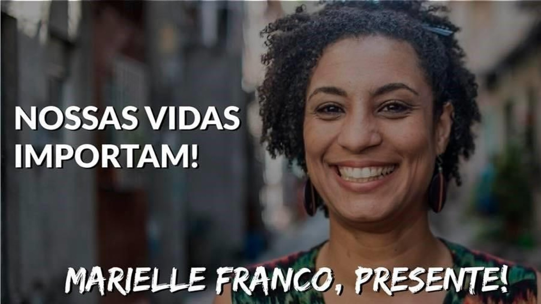 Luto Por Marielle em São Vicente