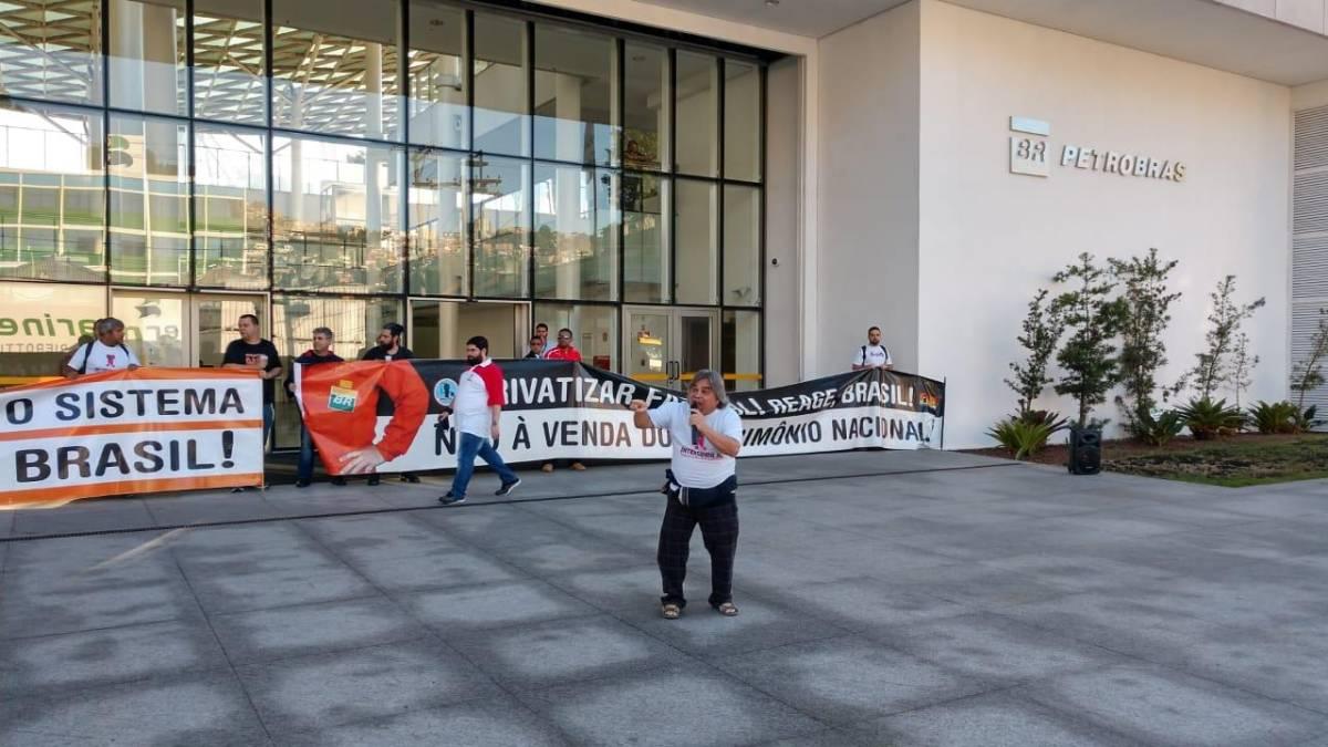 Intersindical participa da Greve dos Petroleiros em Santos/SP