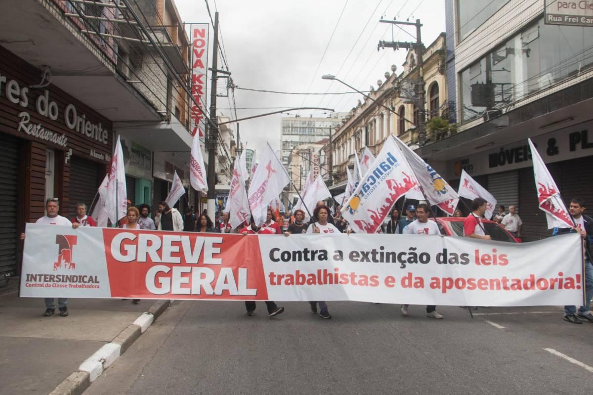 Juíza Federal de Santos anula desconto do BB em Greve Geral contra reformas