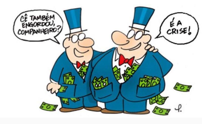 Lucros do Itaú, Bradesco, Santander e Banco do Brasil estão cada vez maiores
