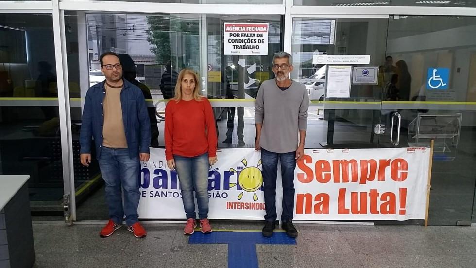 [Agência do BB em Santos é fechada por falta de condições de trabalho]