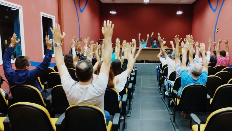 Assembleia na Baixada aprova reivindicações da Campanha Nacional 2018