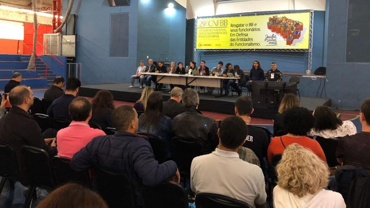 Debate em defesa das entidades do funcionalismo encerra o 29º CNFBB