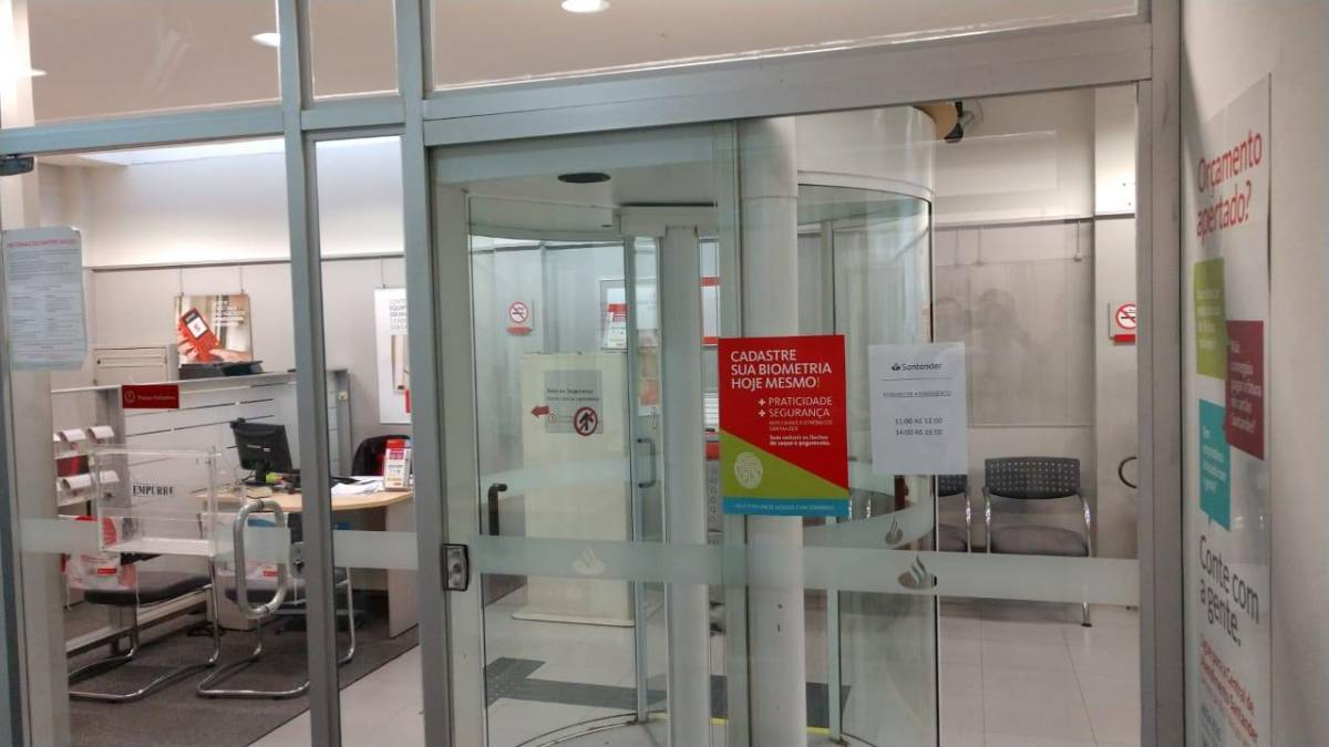 Posto do Santander em Cubatão arrisca vidas com segurança insuficiente