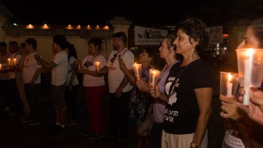 Luzes para Marielle e Anderson / Temer em Santos