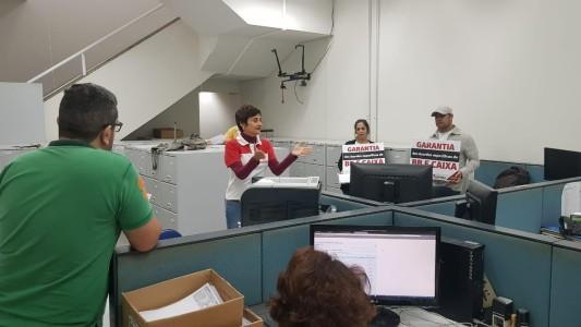 Sindicato percorre agências em atividade da Campanha Salarial