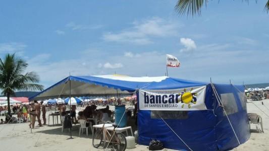 Barraca de praia do Sindicato tem descontos especiais para sócios