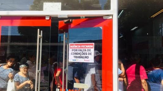 Agência Bradesco em Itanhaém é fechada por falta de condições de trabalho