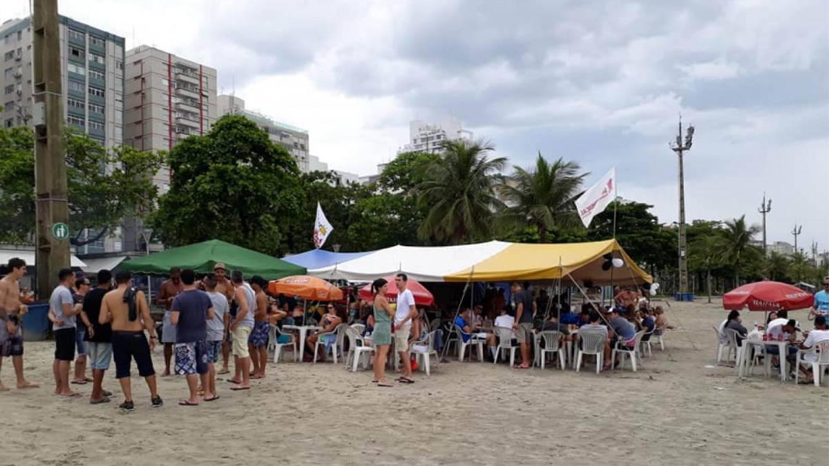Divirta-se: Bar Cultural na praia do Embaré em Santos dia 26/01