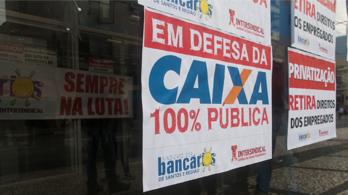 Novo presidente da Caixa confirma privatização fatiada do banco