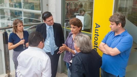 Bancários cobram recolocações no BB com paralisações das Estilo em Santos