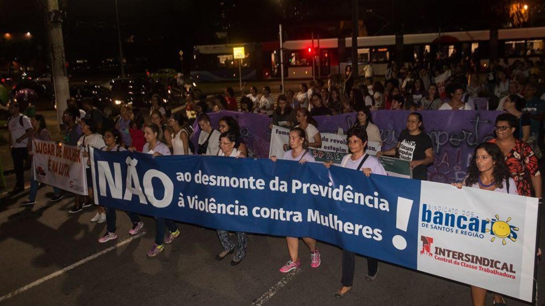 Comissão Oito de Março Unificada convoca manifestação em Santos