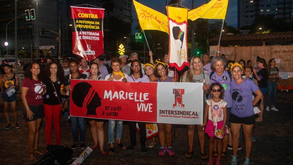 Mulheres marcham pela Vida e contra a Reforma da Previdência!