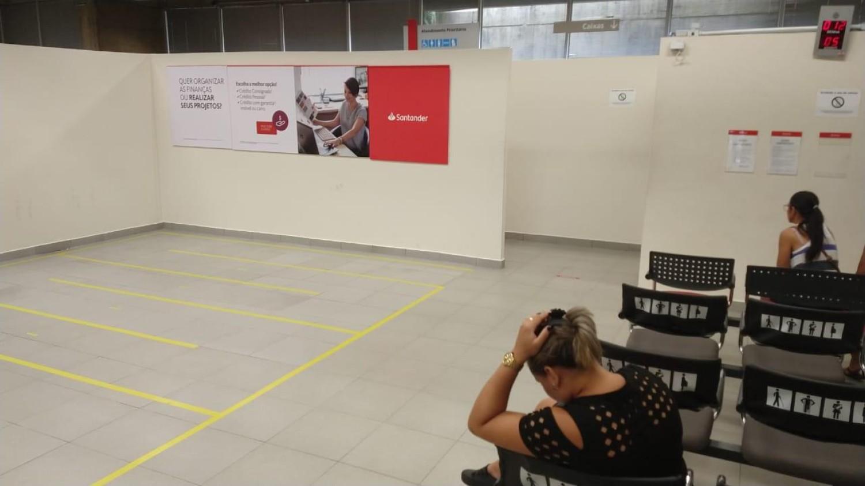 Santander desafia leis e tentará abrir no final de semana!!!